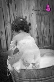 bath time baby