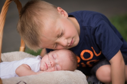 nicu baby and her big brother