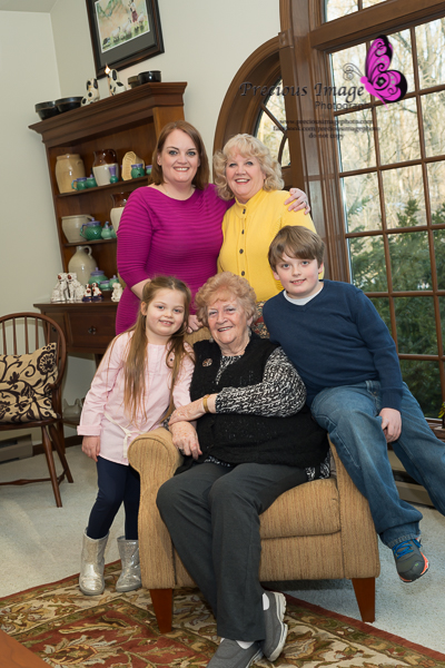 4 generation photo in millersville, pa