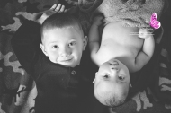 baby and brother on floor shot, quarryville, pa