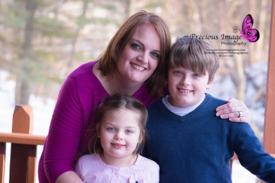 Mom and children in millersville, pa